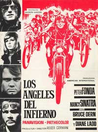The Wild Angels - 27 x 40 Movie Poster - Spanish Style A