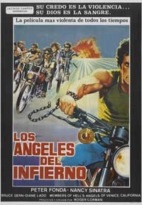 The Wild Angels - 27 x 40 Movie Poster - Spanish Style B