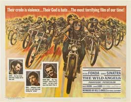 The Wild Angels - 22 x 28 Movie Poster - Half Sheet Style A