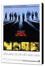 The Wild Bunch - 27 x 40 Movie Poster - Style A - Museum Wrapped Canvas