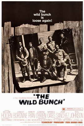 The Wild Bunch - 11 x 17 Movie Poster - Style B