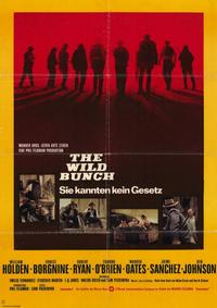 The Wild Bunch - 11 x 17 Movie Poster - German Style A