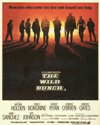 The Wild Bunch - 11 x 17 Movie Poster - Style C
