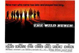 The Wild Bunch - 27 x 40 Movie Poster - Style B
