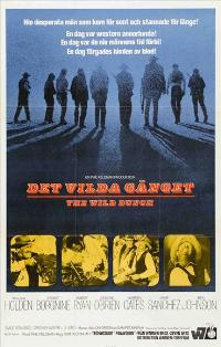 The Wild Bunch - 11 x 17 Movie Poster - Swedish Style A