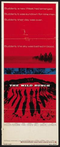 The Wild Bunch - 14 x 36 Movie Poster - Insert Style B