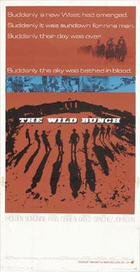 The Wild Bunch - 14 x 36 Movie Poster - Insert Style C