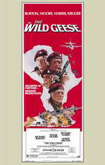 The Wild Geese - 11 x 17 Movie Poster - Style B