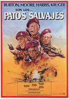 The Wild Geese - 11 x 17 Movie Poster - Spanish Style A