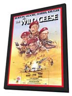 The Wild Geese - 27 x 40 Movie Poster - Style A - in Deluxe Wood Frame