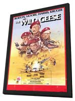The Wild Geese - 11 x 17 Movie Poster - Style A - in Deluxe Wood Frame