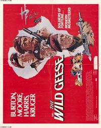 The Wild Geese - 22 x 28 Movie Poster - Half Sheet Style A