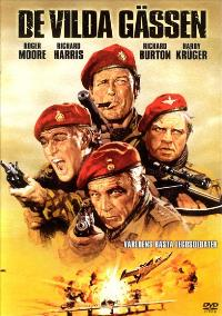 The Wild Geese - 11 x 17 Movie Poster - Swedish Style A