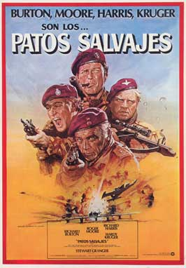 The Wild Geese - 27 x 40 Movie Poster - Spanish Style A