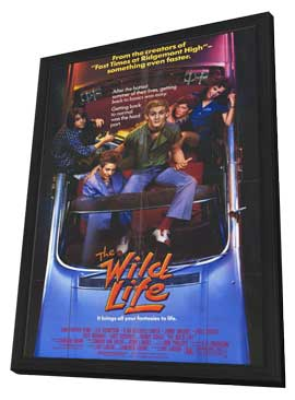 The Wild Life - 11 x 17 Movie Poster - Style A - in Deluxe Wood Frame