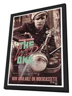 The Wild One - 27 x 40 Movie Poster - Style B - in Deluxe Wood Frame