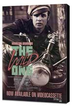 The Wild One - 11 x 17 Movie Poster - Style C - Museum Wrapped Canvas