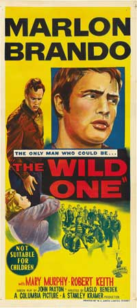The Wild One - 13 x 30 Movie Poster - Australian Style A