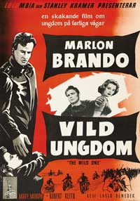 The Wild One - 27 x 40 Movie Poster - Swedish Style A