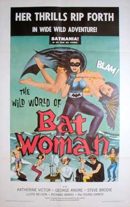 The Wild World of Batwoman - 11 x 17 Movie Poster - Style A