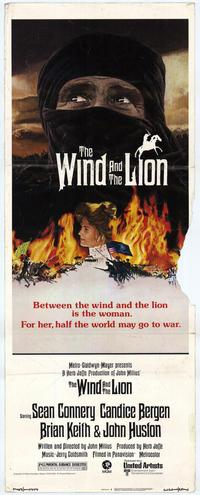 Wind and the Lion, The - 14 x 36 Movie Poster - Insert Style A