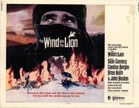 Wind and the Lion, The - 22 x 28 Movie Poster - Half Sheet Style A