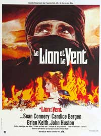 Wind and the Lion, The - 11 x 17 Movie Poster - French Style A