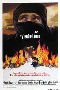 Wind and the Lion, The - 27 x 40 Movie Poster - Spanish Style A