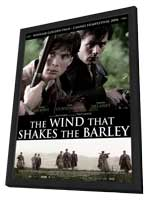 The Wind That Shakes The Barley - 11 x 17 Movie Poster - Dutch Style A - in Deluxe Wood Frame
