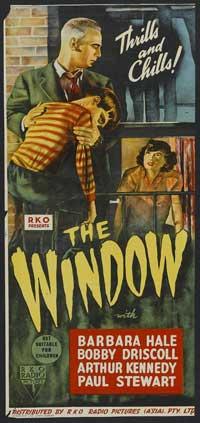 The Window - 14 x 36 Movie Poster - Australian Style A