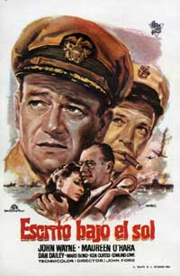 The Wings of Eagles - 27 x 40 Movie Poster - Spanish Style A