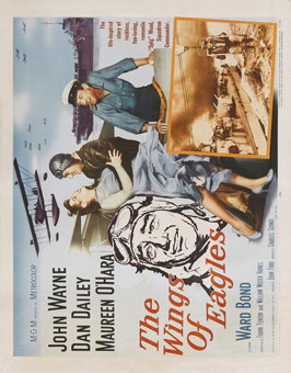 The Wings of Eagles - 22 x 28 Movie Poster - Half Sheet Style A