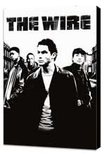 The Wire - 11 x 17 TV Poster - Dutch Style A - Museum Wrapped Canvas