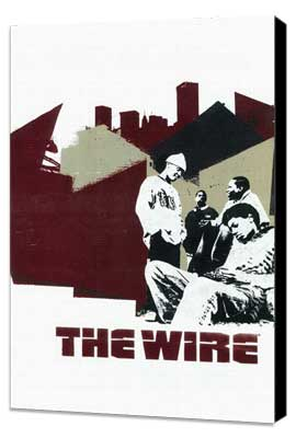 The Wire - 11 x 17 TV Poster - Style C - Museum Wrapped Canvas