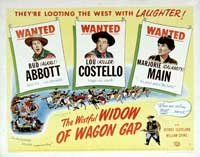 The Wistful Widow of Wagon Gap - 22 x 28 Movie Poster - Half Sheet Style A