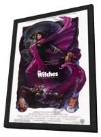 The Witches - 27 x 40 Movie Poster - Style A - in Deluxe Wood Frame