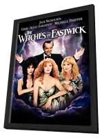 The Witches of Eastwick - 11 x 17 Movie Poster - Style B - in Deluxe Wood Frame