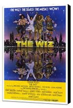 The Wiz - 27 x 40 Movie Poster - Style A - Museum Wrapped Canvas