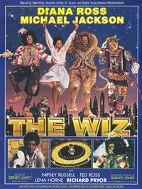 The Wiz - 11 x 17 Movie Poster - French Style A