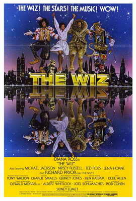 The Wiz - 27 x 40 Movie Poster - Style A