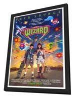 The Wizard - 27 x 40 Movie Poster - Style A - in Deluxe Wood Frame