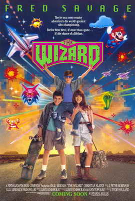 The Wizard - 27 x 40 Movie Poster - Style A