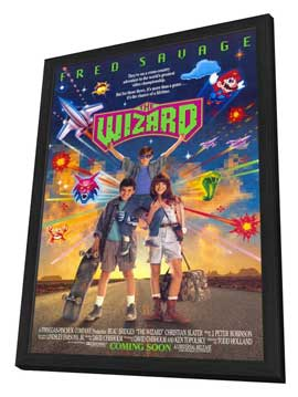 The Wizard - 11 x 17 Movie Poster - Style A - in Deluxe Wood Frame