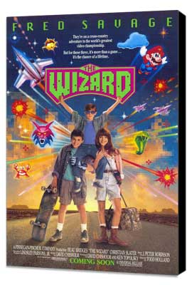 The Wizard - 11 x 17 Movie Poster - Style A - Museum Wrapped Canvas