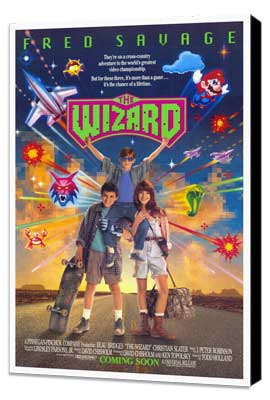 The Wizard - 27 x 40 Movie Poster - Style A - Museum Wrapped Canvas