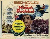 Wizard of Baghdad - 22 x 28 Movie Poster - Half Sheet Style A