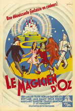The Wizard of Oz - 27 x 40 Movie Poster - French Style A
