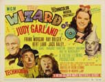 The Wizard of Oz - 11 x 14 Movie Poster - Style P