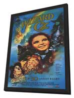 The Wizard of Oz - 11 x 17 Movie Poster - Style B - in Deluxe Wood Frame