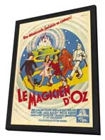 The Wizard of Oz - 27 x 40 Movie Poster - French Style A - in Deluxe Wood Frame
